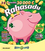 Kiirloto Rahasadu– võida kuni 30000 Eurot
